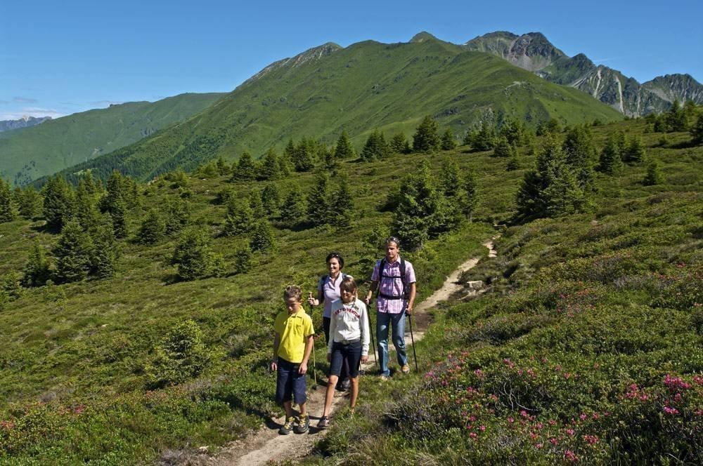 Wanderurlaub in Meransen – Almenregion Gitschberg-Jochtal