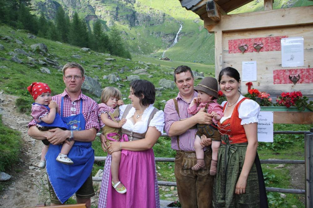 Family holidays on the alp